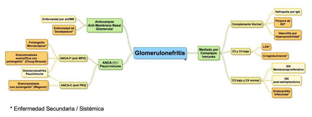 Aproximación Glomerulonefritis